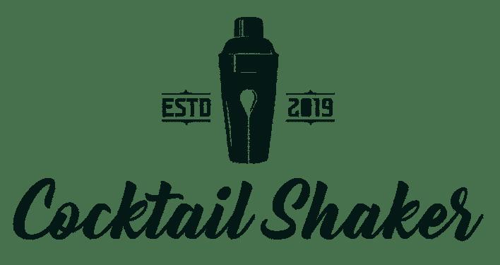 Best Cocktail Shaker Logo - Dark