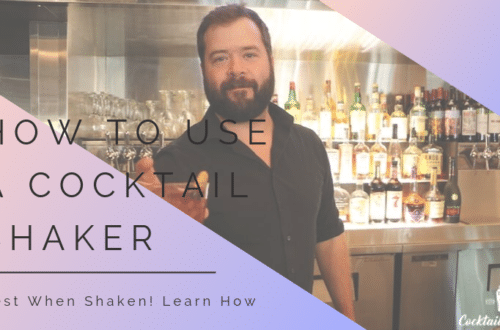How to Use a Cocktail Shaker