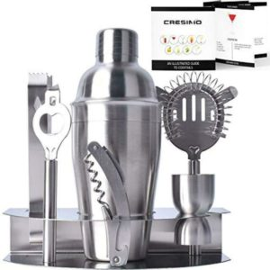 The Cresimo Three-piece Cocktail Shaker