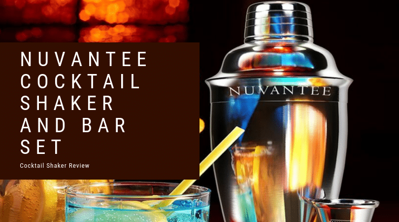 The Nuvantee Cocktail Shaker and Bar Set