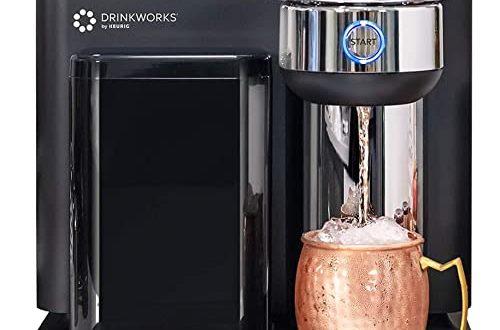 Drinkworks Home Bar by Keurig, Single-Serve, Pod-Based Premium Cocktail, Spritzer & Brews Maker